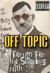 Click to hear the OFF TOPIC show with Aaron Singerman!